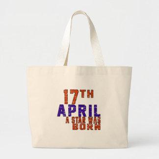 17th April a star was born Bags