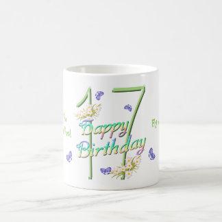 17th Birthday Butterfly Dance Mug