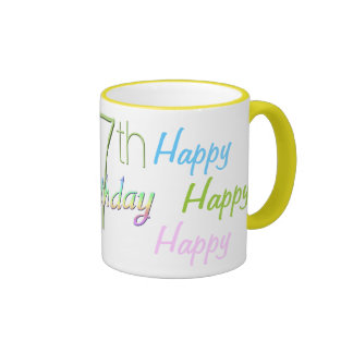 17th Birthday Happy Mug