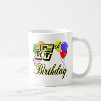 17th Birthday Coffee Mugs