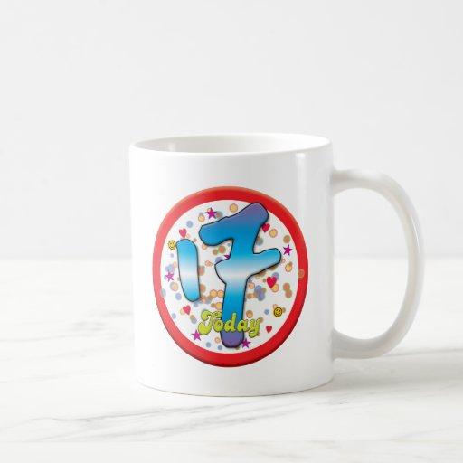 17th Birthday Today Coffee Mug