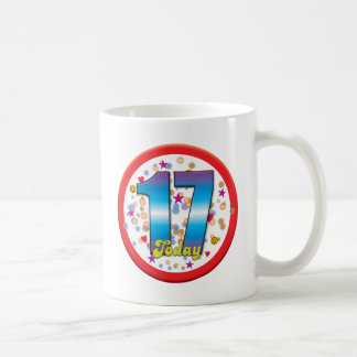 17th Birthday Today v2 Mug