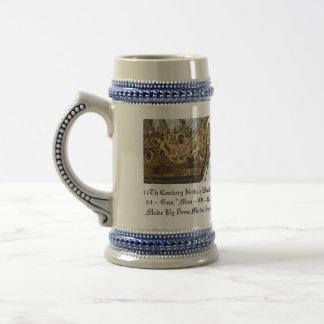17Th Century British Warship Mug