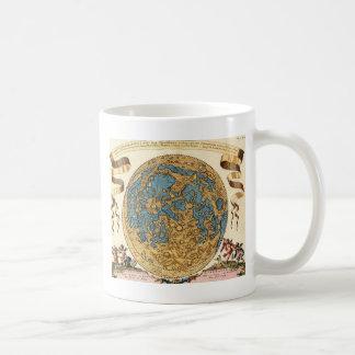 17th Century Lunar Map Basic White Mug