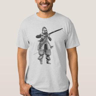 17th Century Musketeer Tshirts