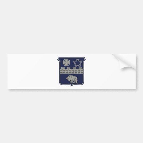17th Infantry Regiment Military Patch Bumper Sticker