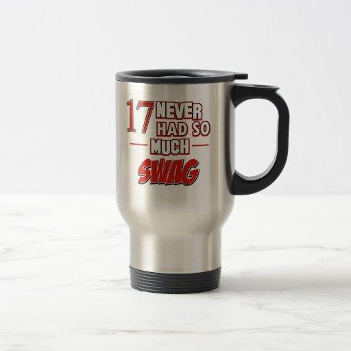 17th year anniversary mug