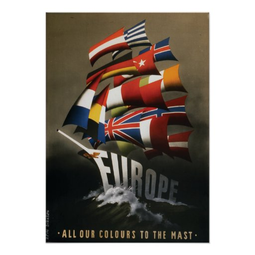 17x24 Poster supporting Marshall Plan, 1947
