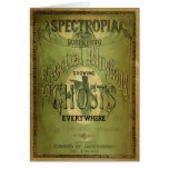1800s Spectropia - A Study of Ghosts Greeting Card