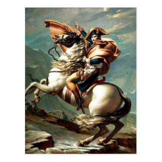 1801 Napoleon Crossing the Alps, Jacques-Louis Dav Postcards