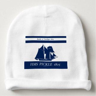 1805 Pickle blue nautical design Baby Beanie