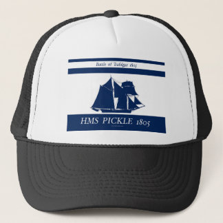 1805 Pickle blue nautical design Trucker Hat
