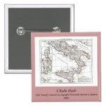 1806 Map - L'Italie (Sud) Badge