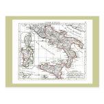 1806 Map - L'Italie (Sud) Postcards