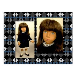 180A Sasha Velvet postcard