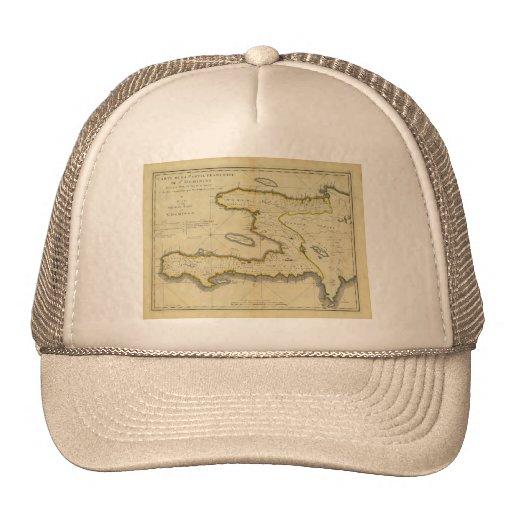 1814 Haiti Map by Mathew Carey Trucker Hats