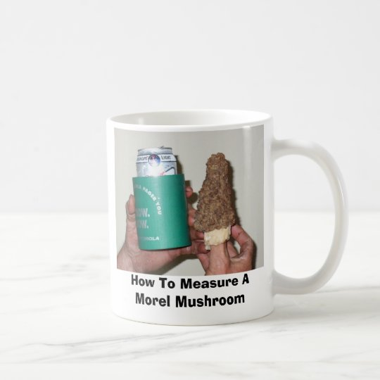 18162127, How To Measure A Morel Mushroom Coffee Mug