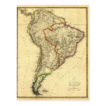 1817 Map of South America