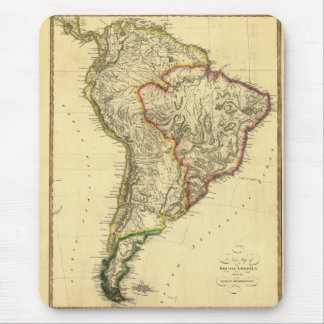 1817 Map of South America Mouse Pad