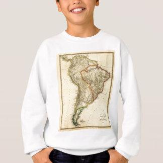 1817 Map of South America Sweatshirt