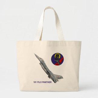 181 FILO Panther F-16 Falcon Tote Bag
