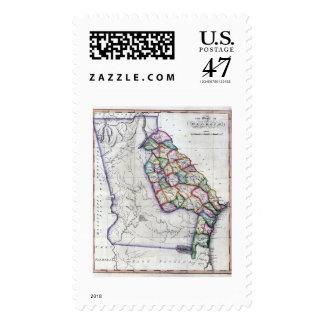 1822 Georgia Postage Stamps