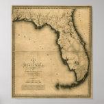 1823 Map of Florida