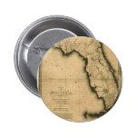 1823 Map of Florida Button