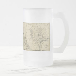 1844  Map of Texas and the Countries Adjacent Coffee Mug