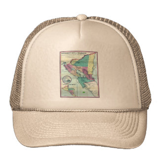 1856 Government Map of Nicaragua by A H Jocelyn Trucker Hat