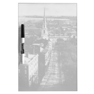 1859:  A view of Boston from the State House Dry Erase Whiteboards