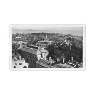1859:  A view of Boston looking south Acrylic Tray
