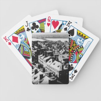 1859: The city of Boston, Massachusetts Bicycle Playing Cards