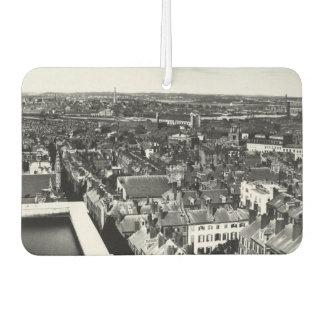 1859:  The city of Boston, Massachusetts Car Air Freshener