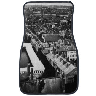 1859:  The city of Boston, Massachusetts Car Mat