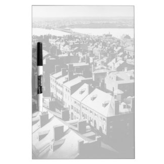 1859: The city of Boston, Massachusetts Dry Erase Board