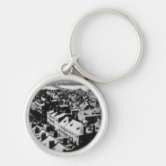 1859: The city of Boston, Massachusetts Key Ring