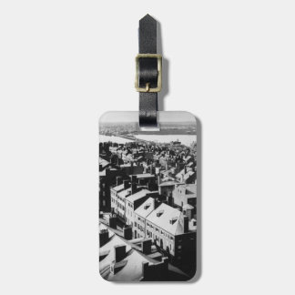 1859: The city of Boston, Massachusetts Luggage Tag