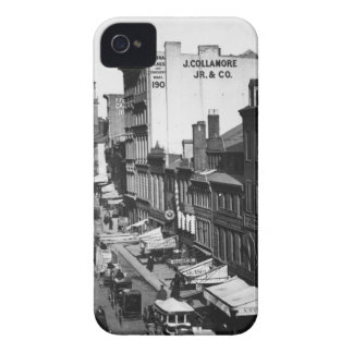 1859:  Traffic and shops on Washington Street Case-Mate iPhone 4 Case