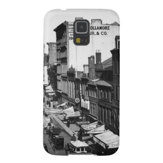 1859:  Traffic and shops on Washington Street Galaxy S5 Cases