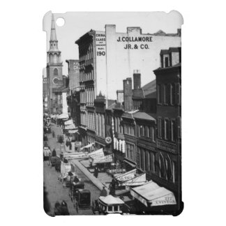 1859:  Traffic and shops on Washington Street iPad Mini Cases