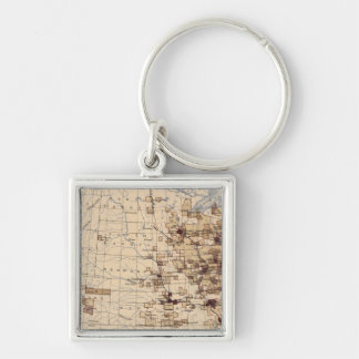 185 Value products/sq mile Key Ring
