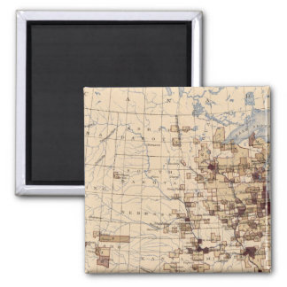 185 Value products/sq mile Square Magnet