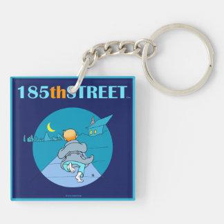 185thSTREET Store Logo Acrylic Keychain