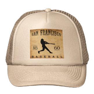 1860 San Francisco California Baseball Trucker Hat