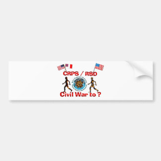 1861 to ? CRPS RSDCivil War Flags Bumper Stickers
