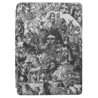 1861: 'What I Saw in the Fire'. Fairies iPad Air Cover