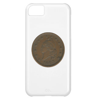 1863 Civil War Token Cover For iPhone 5C