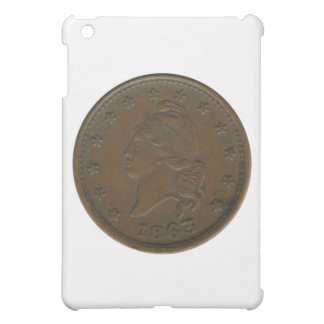 1863 Civil War Token iPad Mini Covers