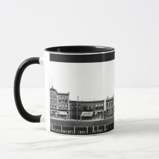1863 - Woodward and John R  Detroit MI Mug
